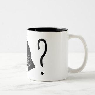 匿名の生産の助手のマグ ツートーンマグカップ