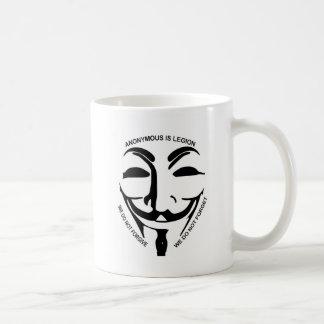 匿名の白いコーヒー・マグ コーヒーマグカップ