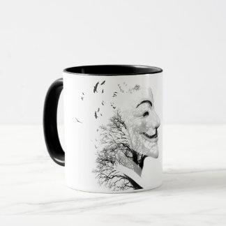 匿名の芸術 マグカップ