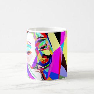 匿名の虹 コーヒーマグカップ