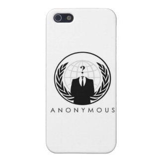 匿名のiphone 4ケース(ロゴ) iPhone 5 カバー