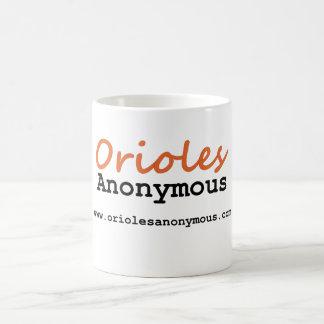匿名オリオールズ-場所のロゴのマグ コーヒーマグカップ
