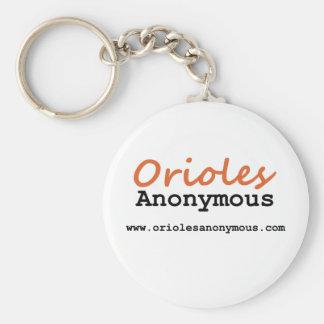 匿名オリオールズ-場所のロゴKeychain キーホルダー