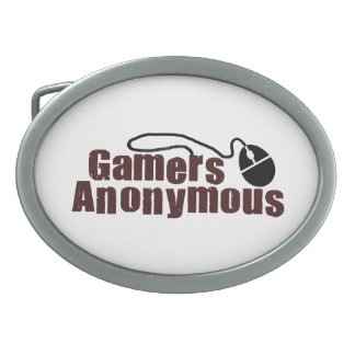 匿名ゲーマー 卵形バックル