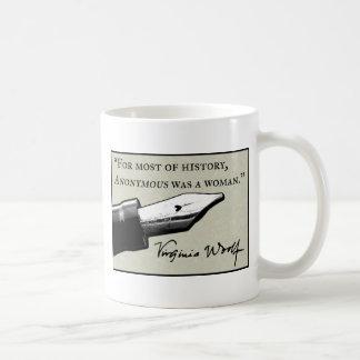 匿名女性はでした コーヒーマグカップ