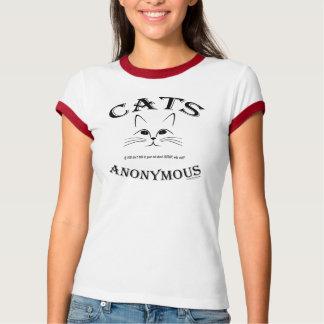 匿名猫:  イヌハッカについてのあなたの猫への話! Tシャツ