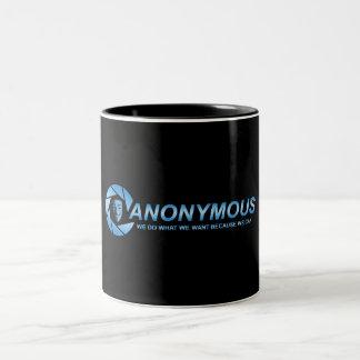 匿名者のマグ ツートーンマグカップ