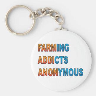 匿名農業の常習者 キーホルダー