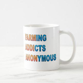 匿名農業の常習者 コーヒーマグカップ