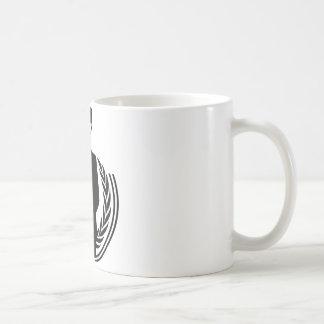 匿名DJのスマイリー コーヒーマグカップ