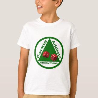 匿名Farkleの常習者 Tシャツ