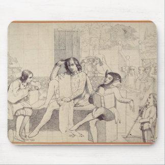 十二夜、c.1850 マウスパッド