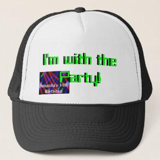 十代の誕生日のグループの帽子 キャップ
