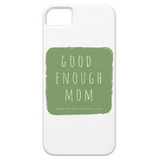 十分によいお母さんの私電話箱 iPhone SE/5/5s ケース