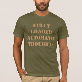 十分に付自動思考 Tシャツ