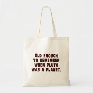 十分に古いプルートが惑星いつだったか覚えるため トートバッグ
