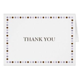 十分に喜びのラベンダーのノートありがとう カード
