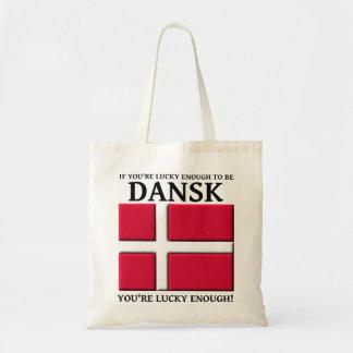 十分に幸運Danskのデンマークのバッグのトートがあるため トートバッグ