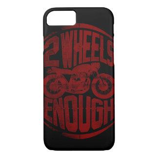 十分の2つの車輪 iPhone 8/7ケース