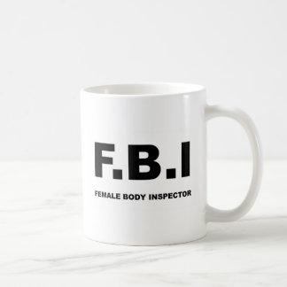 十分のFBI コーヒーマグカップ