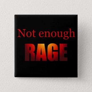 十分激怒の黒 5.1CM 正方形バッジ