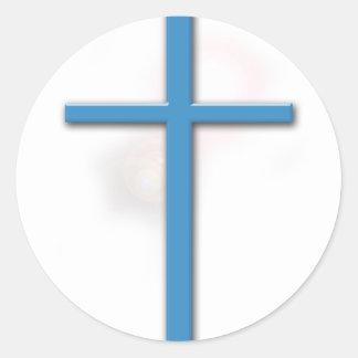 十字およびジョンの3:16 ラウンドシール