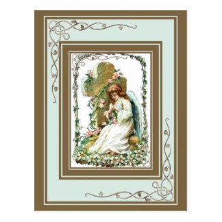 十字との天使 ポストカード