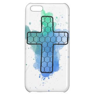 十字のおり色 iPhone5Cケース