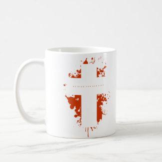 十字のしぶき コーヒーマグカップ