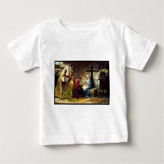 十字のないクリスマス無し ベビーTシャツ