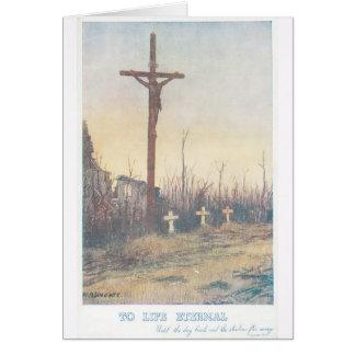 十字のイエス・キリスト カード