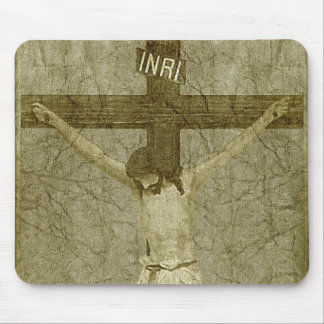 十字のイエス・キリスト マウスパッド