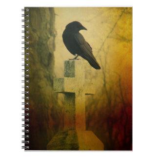 十字のカラス ノートブック