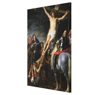 十字の上昇、1631-37年 キャンバスプリント