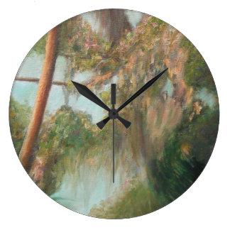 十字の入り江の柱時計 クロック