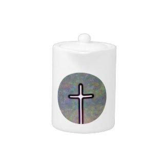十字の円の中のライトを握って下さい