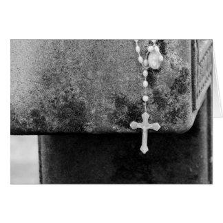 十字の十字 グリーティングカード
