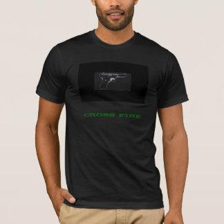 十字の火 Tシャツ