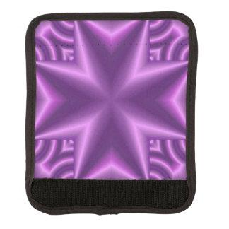 十字の紫色 ラゲッジ ハンドルラップ