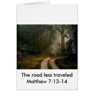 十字の道 グリーティングカード