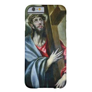 十字1600-10年を握りしめているキリスト(キャンバスの油) BARELY THERE iPhone 6 ケース
