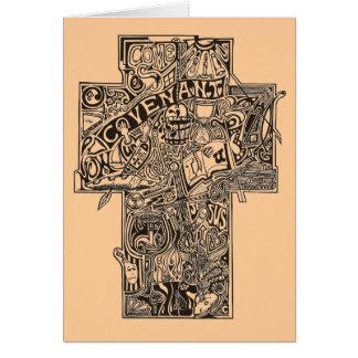 十字1 グリーティングカード