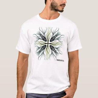 十字、無慈悲なギア Tシャツ