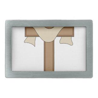 十字 長方形ベルトバックル