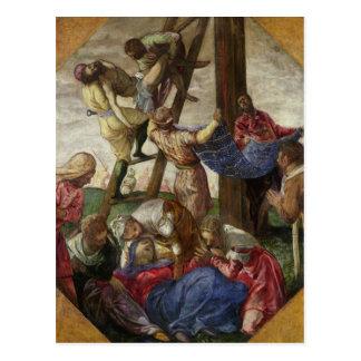 十字、c.1560-65からの降下 ポストカード