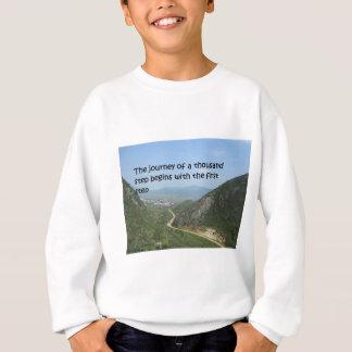 千のステップの旅行 スウェットシャツ