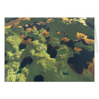 千の湖の土地 カード