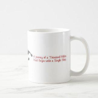 千マイルの旅行… コーヒーマグカップ