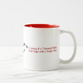 千マイルの旅行… ツートーンマグカップ