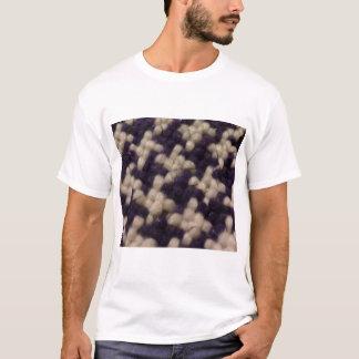 千鳥格子の Tシャツ